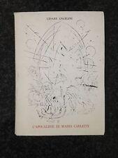 L'APOCALISSE DI MARIO CARLETTI (Litografie) - Cesare Angelini - PESCE D'ORO 1964