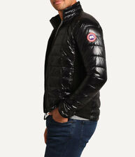 #260  Canada Goose Men's Hybridge Lite Jacket Size M  RETAIL $550 BLACK