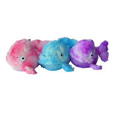 Gor Reef Mommy Whale Dog Toy x1 | Large Squeaky Honks Crinkly Plush Soft Furry