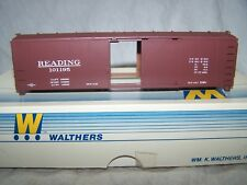 Walthers HO 40' X-2-9 Steel Boxcar RDG(kit)