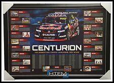 Craig Lowndes Holden Centurion Limited Edition V8 Supercars Print Framed + COA