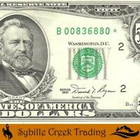 1981 $50 NEW YORK FRN *STAR REPLACEMENT* Fr 2120-B*   36880*