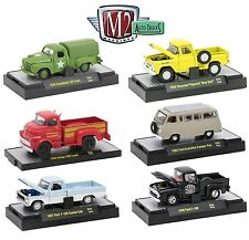 1:64 M2 Machines *AUTO-TRUCKS R38* = COMPLETE SET of 6 *CHANCE AT CHASE CAR* NIB
