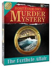 The Porthole Affair - Host Your Own Murder Mystery Dinner Party Game - Cheatwell