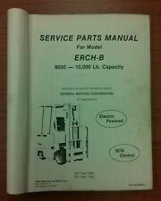 Yale Forklift Service Parts Manual ERCH-B (1353)