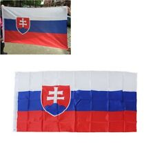 90×150cm Slovakia Flag 3x5ft Polyester Banner Activity Festival Home Decoration