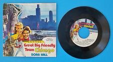 "Vintage Dora Hall 45 RPM ""Great Big Friendly Town Chicago"" w/Original Sleeve"