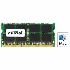 Crucial 8gb (2x4gb) Ddr3 1066 MT Pc3-8500 SODIMM 204pin for Mac