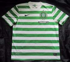 CELTIC GLASGOW home shirt jersey NIKE 2012-2013 125ᵗʰ Anniversary adult SIZE XL