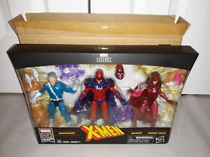 Marvel Legends X-Men Family Matters Amazon Quicksilver Magneto Scarlet Witch NEW