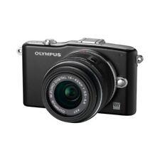 Near Mint! Olympus E-PM1 12.3MP with 14-42mm Black - 1 year warranty
