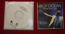 BILLY OCEAN   HERE YOU ARE -THE MUSIC OF MY LIFE  US ADV PROMO CD  MINT!