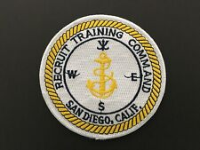 Us Navy Recruit Training Command San Diego Patch Measures 4 Inches Diameter