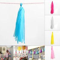 Tissue Garlands Bunting Ballroom-Paper Tassels Wedding Party Decor New x 5