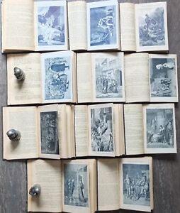 1893 William Shakespeare Complete Works Russian illustrated Books Set of 11