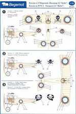Begemot Decals 1/48 NIEUPORT 11 BEBE Russian Imperial Air Force