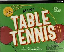 The Way of Play Mini Table Tennis Set