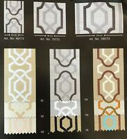 3,5 meters 100mm Embroidered Ribbons (3.93 inches), drapery trim, Curtain trims,