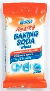 Duzzit Amazing Baking Soda Wipes 40 Wipes Powerful Tough On Stains Multipurpose