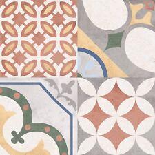 Mediterranean Style Floor & Wall Patchwork Tiles 45x45cm £18.00 - 5 Tiles!
