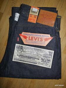Levi`s LVC Vintage 201 Big E Shrink to Fit Selvedge Denim Größe W 30 /L 40