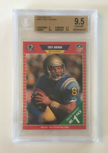 1989 Pro Set Troy Aikman #490 BGS 9.5 Rookie