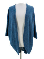 Mossimo Supply Co. Women's Blue Cotton Blend Dolman Sleeve Cardigan Size XS