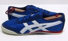 ONITSUKA YOUND MEXICO CITY 66 MEN'S (6.5) BLUE & WHITE SYNTHETIC FABRIC TRAINERS