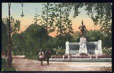 ALESSANDRIA - GIARDINI E MONUMENTO A UMBERTO I 1930
