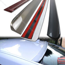 Painted Roof Lip Spoiler Wing for NISSAN 09-15 370Z Z34 PUF 2DR COUPE §