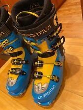 Women's La Sportiva Sparkle Ez Tour At ski boots size 24.5