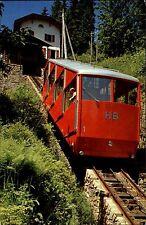 Interlaken Kanton Bern Station Bahnhof Harderkulm Schweiz Bergbahn Bahn ~1975