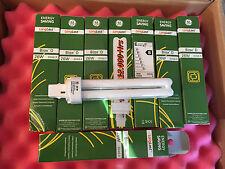 8 x NEW GE LONGLAST 2 PIN 26W G24D-3 BIAX D F26DBX/830 WARM WHITE LIGHT BULB