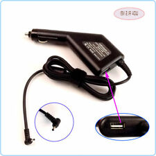 Netbook DC Power Adapter Car Charger +USB for ASUS Eee PC VX6 V85