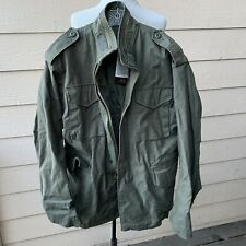 Alpha Industries Cold Weather Man's Field Coat Green 8415-01-099-7838 Military L
