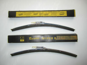 1957-1965 Buick, Chevy, Chevy Truck, Oldsmobile Wiper Blades Pair OEM #1362726