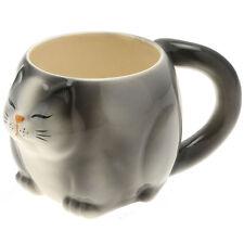 1x Japanese Really BIG Black Cat  Mug #113-165