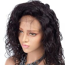 """20"""" Black Women's Stylish Lace Front Wig Natural Curly Synthetic Full Hair Wigs"""