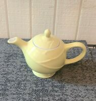 Vintage Hall Yellow Cabbage Design Teapot Made in USA