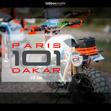 Pegatinas BMW R Ninet Paris Dakar 101 Concept Lac Rose Motorrad stickers replica