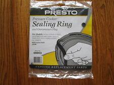 Presto 09903  Pressure Cooker Sealing Ring/Overpressure Plug New