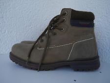 Neuwertige Stiefeletten Carrera Work Boots Kunstleder Textil braun Gr. 40