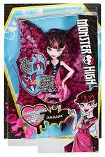 MONSTER HIGH Bambola Draculaura 30cm con Trasformazione - Mattel dnx65