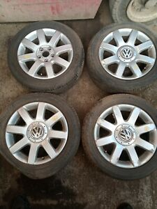 VW GOLF MK5 16inch - ALLOY WHEEL SET + TYRES