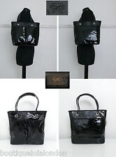 Anya Hindmarch Black Patent Leather Tote Bag. Little Used - Superb Condition