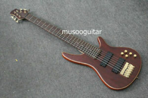 electric bass 6 string  with maple neck