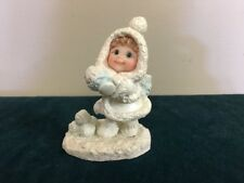 Dreamsicles Northern Lights Girl With Snowballs 60026 Having A Ball 1999
