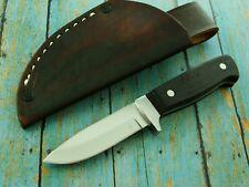 ARTISAN HAND MADE HUNTING SKINNING SURVIVAL KNIFE & SHEATH SET CUSTOM KNIVES