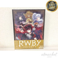 RWBY VOLUME 4 First Limited Edition Booklet Pin Badge from Japan  [ Blu-ray CD]