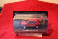 VW Golf GTI (1978) in Rot 1:43 - De Agostini Neu & OVP Sammler Ausgabe 2